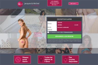 Erotisme sur Jacquie et Michel Contact